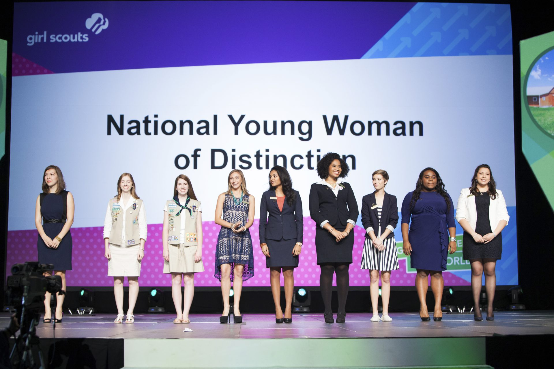 Girl Scout Young Women of Distinction Kappa Delta